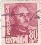 Sellos de Europa - España -  GENERAL FRANCO  (9)