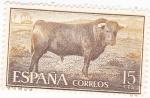 Sellos de Europa - España -  TORO DE LÍDIA  (9)