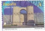 Stamps Spain -  PUERTA DEL ALCÁZAR- AVILA (9)