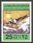 Sellos del Mundo : Africa : Libia : 727 - Historia de la aviación