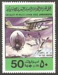 Stamps Libya -  729 - Historia de la aviación