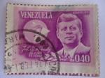 Stamps Venezuela -  Aliánza Para El Progreso-John F.Kennedy 1917-1963