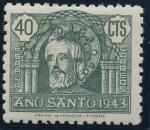 Sellos de Europa - España -  ESPAÑA 965 AÑO SANTO COMPOSTELANO 1943