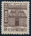 Sellos de Europa - España -  ESPAÑA 968 AÑO SANTO COMPOSTELANO 1943