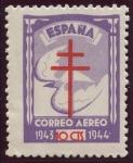 Sellos de Europa - España -  ESPAÑA 973 PRO TUBERCULOSOS 1943