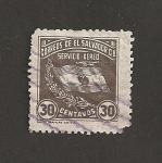 Stamps El Salvador -  Bandera nacional