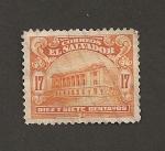 Stamps El Salvador -  Teatro Nacional