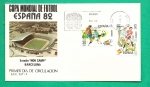 Sellos de Europa - España -  Mundial Futbol España 82 - Estadio Nou Camp - Barcelona SPD