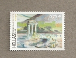 sellos de Europa - Grecia -  Paisajes Grecia