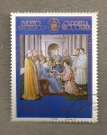 Stamps Europe - Vatican City -  Beato Angélico, Capilla Niccolina