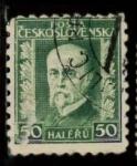 Stamps Czechoslovakia -  PERSONAJE CON BARBA