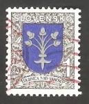Stamps : Europe : Slovakia :  143 - Escudo de la ciudad de Dubnica