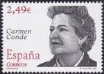 Stamps : Europe : Spain :  Carmen Conde
