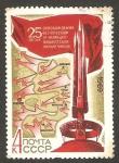 Sellos de Europa - Rusia -  3502 - 25 anivº de la liberación de Bielorrusia