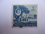 Stamps America - Trinidad y Tobago -  Isabel II - Whitehall