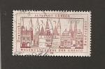 Stamps Germany -  Incorporación de Lübeck al Patrimonio de la Humanidad de la UNESCO
