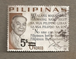 Stamps Asia - Philippines -  Mensaje