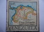 Sellos de America - Venezuela -  150º Aniversario de la creación  de la Gran Colombia