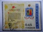 Stamps Venezuela -  Acta de la Fundación de la Ciudad de Santo Tomé de la Guayana