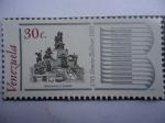 Stamps Venezuela -  Bicentenario del nacimiento de Simón Bolívar 1783-1983 - Monumento a Carabobo.