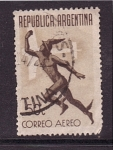 Stamps of the world : Argentina :  correo aéreo