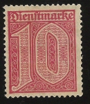 Stamps : Europe : Germany :  Official Stamps
