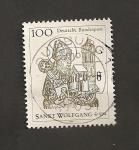 Stamps Germany -  1000 aniv. de San Wolfgang, obispo de Regensburg