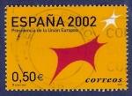 Stamps Spain -  Edifil 3866 Presidencia de la Unión Europea 0,50