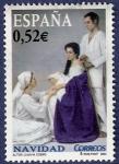 Stamps Spain -  Edifil 4129 Navidad 2004 0,52
