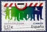 Sellos de Europa - España -  Edifil 4228 Valores cívicos Contra el tráfico de personas 0,57