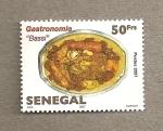 Stamps Senegal -  Gastronomía