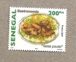 Sellos de Africa - Senegal -  Gastronomía