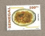 Sellos del Mundo : Africa : Senegal : Gastronomía