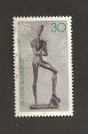 Sellos de Europa - Alemania -  Escultura de joven por Lehmbruck