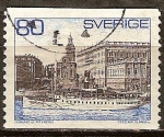 Sellos de Europa - Suecia -  Ferry