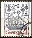 Sellos de Europa - Suecia -  Tapiz.