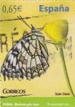 Stamps Spain -  MARIPOSA  (9)