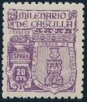 Stamps Spain -  ESPAÑA 974 MILENARIO DE CASTILLA