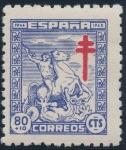 Sellos de Europa - España -  ESPAÑA 987 PRO TUBERCULOSOS 1944