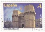 Sellos de Europa - España -  PUERTA DE SERRANOS, VALENCIA  (9)