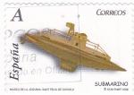 Stamps Spain -  MUSEU DE LA JOGUINA.SAN FELIU DE GUIXOLS- SUBMARINO (9)