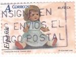 Stamps Spain -  FUNDACIÓN RAQUEL CHAVES,VIGO- MUÑECA (9)
