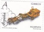 Sellos de Europa - España -  MUSEU DE LA JUGUETA-LA POBLA- DILIGENCIA  (9)