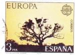 Stamps Spain -  EUROPA CEPT - PARQUE NACIONAL DE DOÑANA (9)