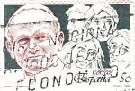 Stamps Spain -  PAPA Y JUVENTUD (9)