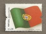 Stamps Portugal -  Simbolos de la república
