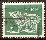 Sellos del Mundo : Europa : Irlanda : Perro estilizado (broche).