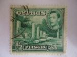 Stamps : Asia : Cyprus :  Columnas de Salamis