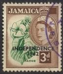 Sellos del Mundo : America : Jamaica :  INDEPENDENCIA DE JAMAICA.