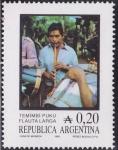 Stamps Argentina -  Flauta larga